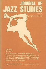 Journal of Jazz Studies, Spring/Summer 1977,…