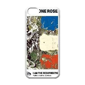 The Stone Roses 03 para funda iPhone funda caso 5c teléfono celular de cubierta blanca