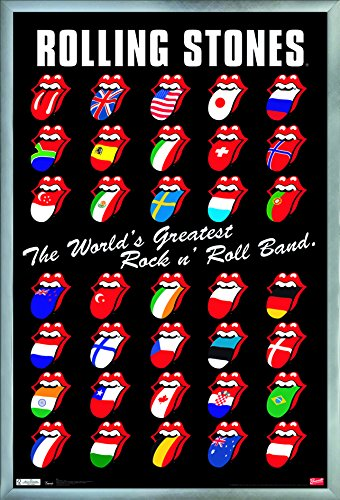 Trends International Rolling Stones - Grid Wall Poster 24.25