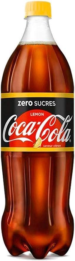 Coca-Cola Lemon Zero Sucres 1,25L (pack de 6): Amazon.es ...