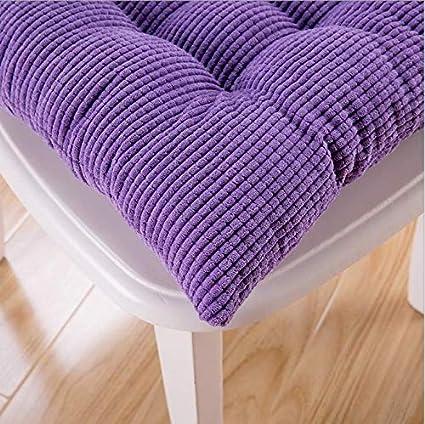 Qplcdg Cuscino Sedia 40x40cm Verde Set da 4 Cuscini per sedie,Cuscino da Giardino Trapuntati per sedie o sgabelli di Cucina e Ufficio