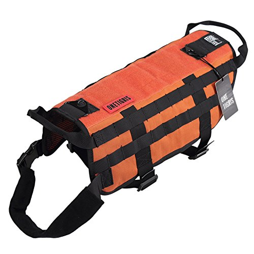 OneTigris Tactical Training Harness Orange