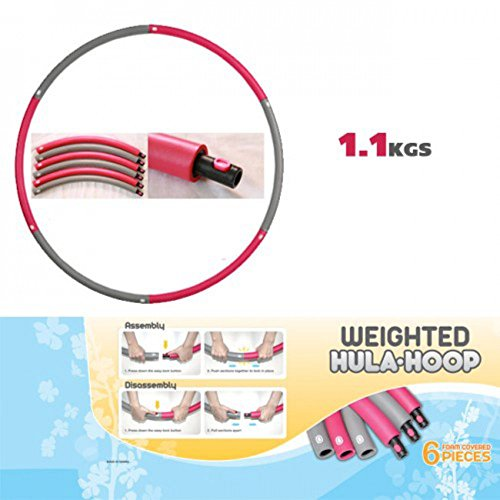 5 Lbs Weighted Hu-La Hoop