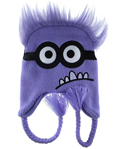 PURPLE Minion Despicable Me ~ Laplander Hat ()