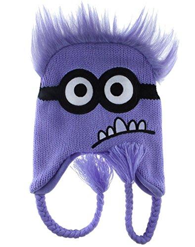 PURPLE Minion Despicable Me ~ Laplander Hat