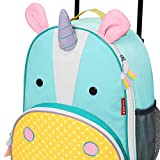 Skip Hop Kids Luggage with Wheels, Unicorn