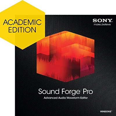 Sony Sound Forge Pro 11 - Academic Version [Download]