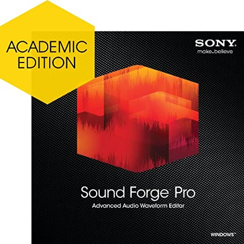 Sony Sound Forge Pro 11 - Academic Version [Download] (Sony Sound Forge 11)
