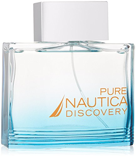 Pure Discovery Eau De Toilette Spray Men by Nautica, 3.4 ()