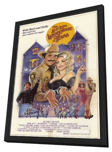Movie Posters The Best Little Whorehouse in Texas - 11 x 17 Framed