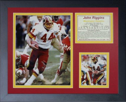 (Legends Never Die John Riggins Framed Photo Collage, 11x14-Inch)