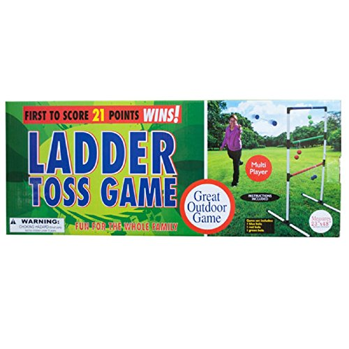 Daily Basic Indoor and Outdoor Party And Pool Fun Action Ladder Toss Game by Daily Basic