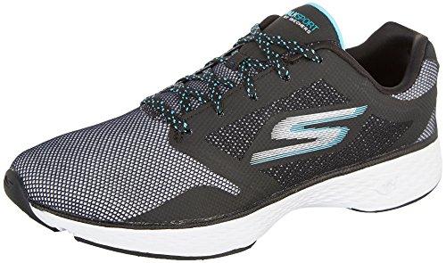 Skechers Women's GOwalk Sport Active Walking Sneaker,Blac...