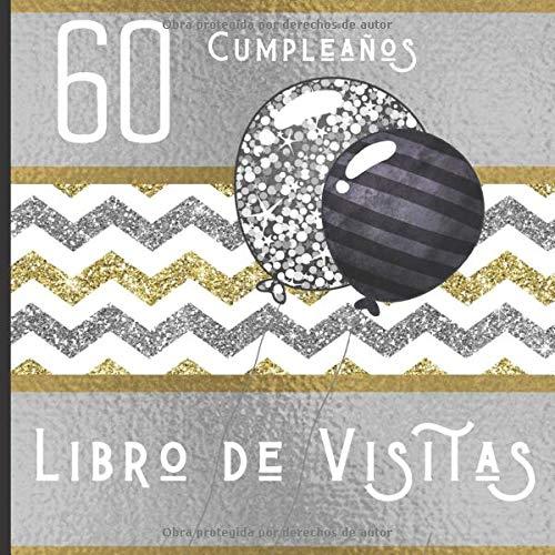 Amazon.com: 60 Cumpleaños Libro de Visitas: Feliz ...