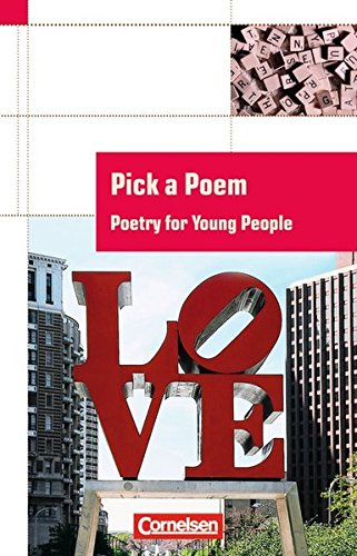 Cornelsen English Library - Fiction: 5.-10. Schuljahr, Stufe 2 - Pick a Poem: Poetry for Young People. Textheft