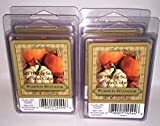 Candle-Lite Highly Scented Pumpkin Splendor Wax Cubes (4 packs of 6 cubes)