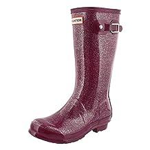 Hunter Boots Girls' Original Kids Glitter Rain Boot