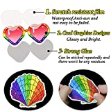 Colorful Waterproof Vinyl Stickers Pack for