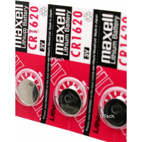 Maxell CR1620 3V Lithium Coin Cell Watch Batteries (Cr1620 Lithium Coin Cell Batteries)