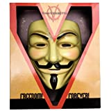 Deluxe V For Vendetta Official Licensed Guy Fawkes Occupy Anonymous Mask