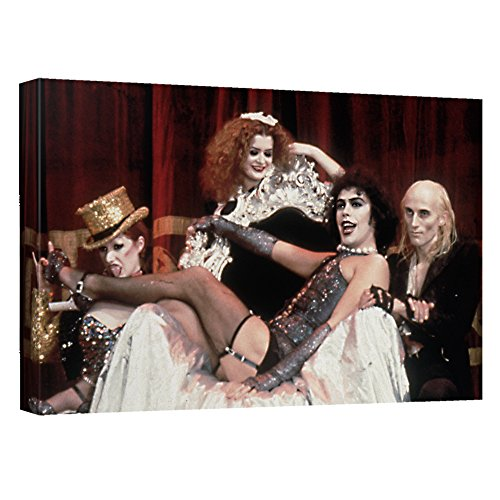 Throne -- Rocky Horror Picture Show -- Stretched Canvas Framed Artwrap, 8x12 (Show Merchandise Rocky Horror Picture)
