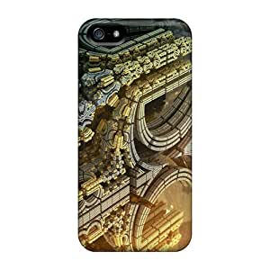 XHu3580aJjq Pando Case Alien Strukture Feeling Iphone 5/5s On Your Style Birthday Gift Cover Case
