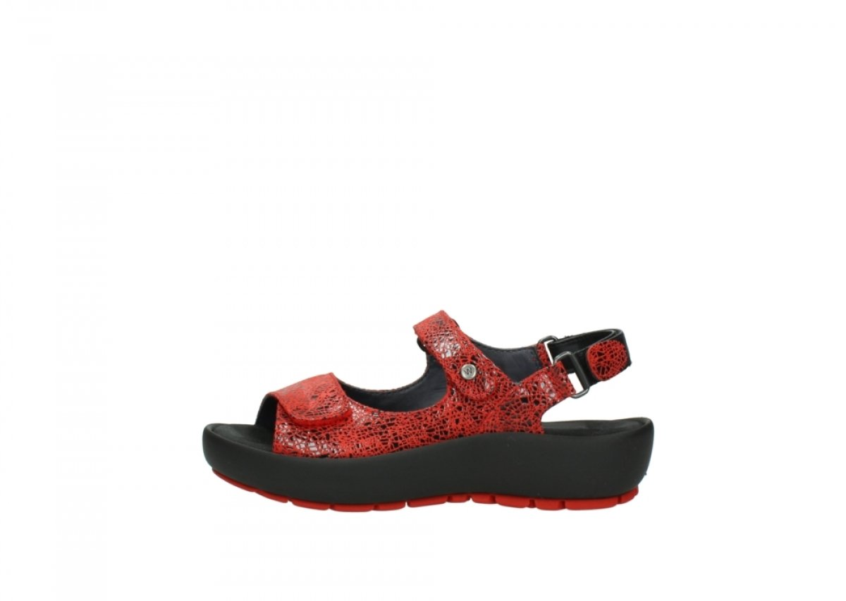 Wolky Comfort Rio B01ITO5IPK 41 M EU|40500 Red Craquel茅 Leather