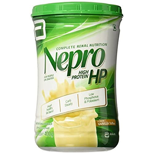 Image of Health and Household Abbott Nepro HP Vanilla Powder -400gm High Nutrition Energy Feed Steady (6)