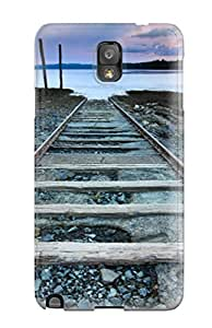For Eric J Green Galaxy Protective Case, High Quality For Galaxy Note 3 Railroad To Nowhere Skin Case Cover