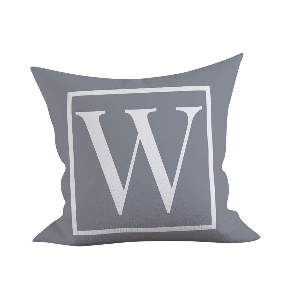 Amazon.com: LOKODO - Funda de cojín para sofá, 17.7 x 17.7 ...