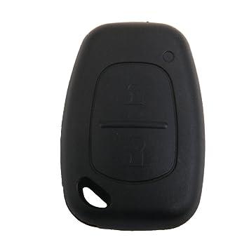 Cáscara Funda de Llave Reemplazo Romota 2 Botones para Vauxhall Opel Vivaro Renault Trafic: Amazon.es: Coche y moto