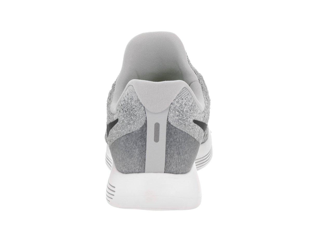 Nike Men's Lunarepic Low Flyknit 2 Wolf Grey/Black/Cool Grey Running Shoe 10.5 Men US by NIKE (Image #4)