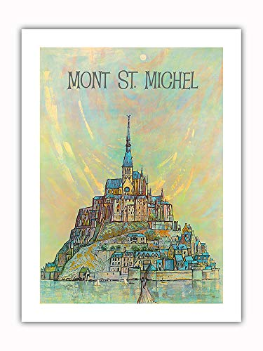 Pacifica Island Art - Mont St. Michel Island - Normandy, for sale  Delivered anywhere in USA