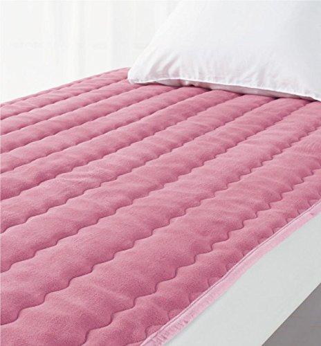 ロマンス小杉 敷きパッドSD セミダブル ピンク 120x205cm ロマンス岩盤浴 B07L8YSGDS ピンク