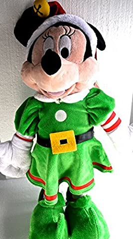 Disney Minnie Mouse 23 Christmas Holiday Porch Greeter Plush Standing Tall by Disney (Plush Porch Greeter)