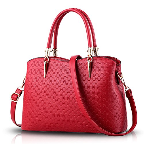 Sunas 2017 new women handbag purse sweet lady embossed handbag Oblique pack shoulder bag