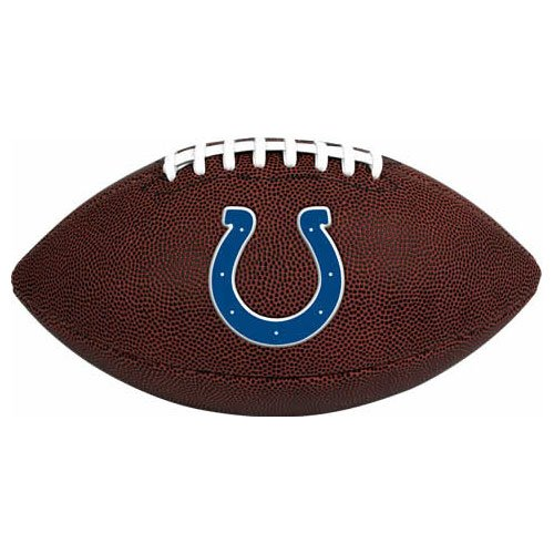 Rawlings NFL Game Time Full Regulation-Size Football - Desk Team Colts Indianapolis