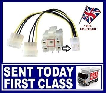 Generic o-1-o-4956-o Olex a cable de alimentación N 4 pin tarjeta ...