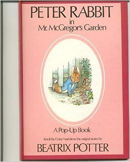 beatrix potter pop ups rabbit in mr mcgregor s garden the