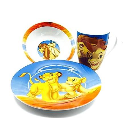 Disney Classic Lion King Ceramic Dinner Gift Set  sc 1 st  Amazon UK & Disney Classic Lion King Ceramic Dinner Gift Set: Amazon.co.uk ...
