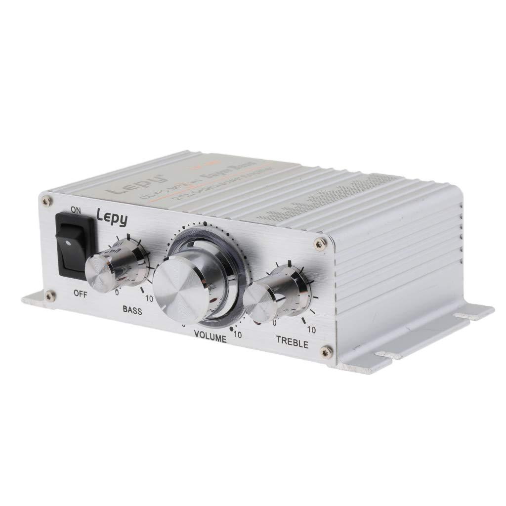 Interruptor de Alimentaci/ón con Puerto USB para MP3 Carga MP4 F Fityle DC 12V 15W 15W Clase-D Mini Hi-fi Amplificador de Audio Digital