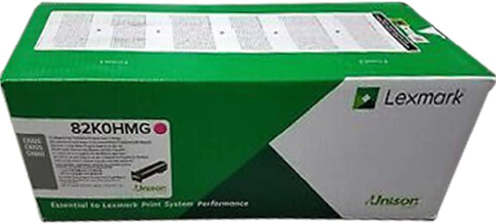 82K0HYG Lexmark High Yield Yellow Return Program Toner Cartridge for US Government 17000 Yield