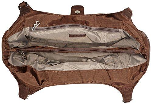 Bogner 0493954 - Borsa a Tracolla Donna 36x26x15 cm (B x H x T) Marrone (Chestnut 373)
