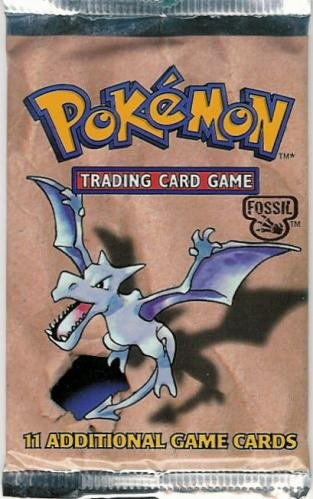 Pokemon Fossil American Trading Card Game Booster (Fossil Pokemon Card)