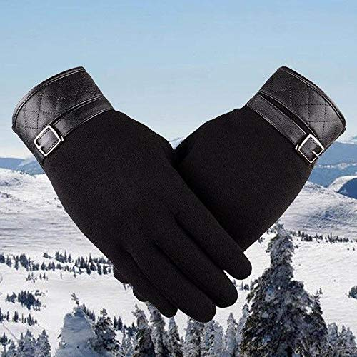 Anixl Men Thermal Winter Motorcycle Snow Snowboard Gloves ()