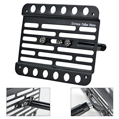Extreme Online Store for 2013-Up Cadillac ATS (Without PDC) Front Tow Hook License Plate Bracket (Cadillac Tow Hook)