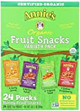 Image of Annies Homegrown Organic Bunny Fruit Snacks Variety Pack 0.8 Oz (24 ct)