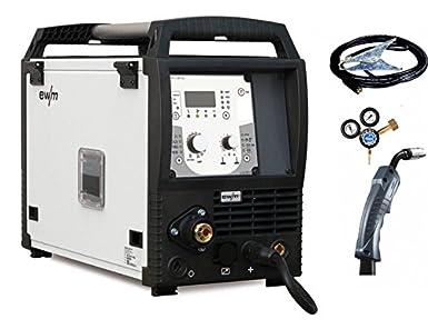 EWM WE ARE Welding Mig Mag Inverter EWM picomig 305 D3 synergic sudor dispositivo: Amazon.es: Industria, empresas y ciencia