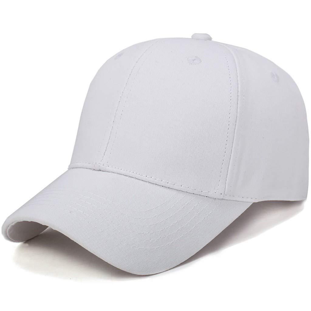 Rouge, kaki, noir, blanc, rose vif, gris, bleu Chapeau simple mod/èle de base couleur unie coton panneau da/éroport section d/étoiles casquette de baseball en plein air chapeau de soleil