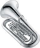 Jupiter 378 Series 3-Valve 3/4 BBb Tuba 378S Silver